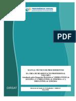 Manual Técnico de Procedimentos-Volume i