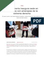 La Masonería Inaugura Sede en Barcelona Con Amenazas