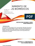 Mantenimiento de Equipos Biomédicos