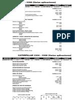 CATERPILLAR 3304 - 3306 (Varias Aplicaciones)