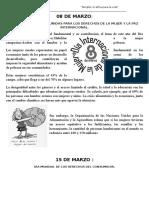 Fechas Civica 2016- 1er Bim,