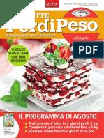 Le Ricette PerdiPeso - Agosto 2016