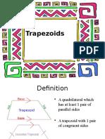 Trapezoid presentation