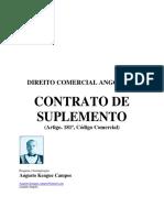 Direito Comercial Angolano - Contrato de Suplemento--Augusto Kengue Campos