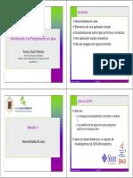 Java Introduccion Prof. Guidi