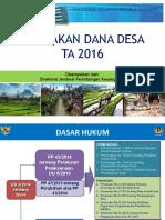 01. Kebijakan Dana Desa Dan Add 2016 Kemenkeu
