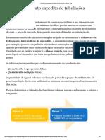 Dimensionamento Expedito de Tubulações - Aldo Dórea Mattos - Blogs Pini