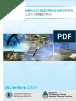 Analisis del mercado electrico argentino