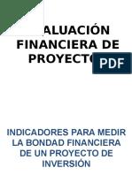 Clase III - Indicadores Bondad Financiera