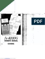 Casio fx8000g