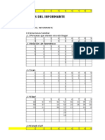 Base de Datos de Encuestas - Rancas