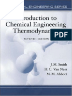 Introduction to Chemical Engineering Thermodynamics - 7th Ed