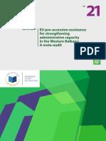 Asistenca e BE-së për forcimin e kapaciteteve administrative në Ballkanin Perëndimor