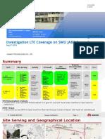 SMU JABO Investigation LTE Coverage