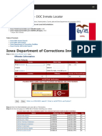 Iowa Inmate Search Department of Corrections Lookup