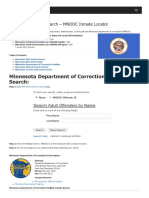 Minnesota Inmate Search Department of Corrections Lookup