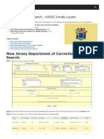 New Jersey Inmate Search Department of Corrections Lookup