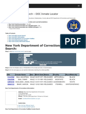 Current NY Inmate Phone Contract