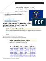 North Dakota Inmate Search Department of Corrections Lookup