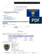 Oregon Inmate Search Department of Corrections Lookup