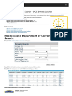 Rhode Island Inmate Search Department of Corrections Lookup