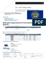 Nebraska Inmate Search Department of Corrections Lookup