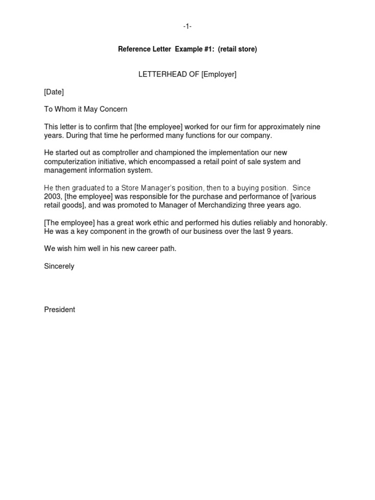 reference letter examples nonprofit organization board of directors