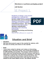 GCSE Project Guide - Year 10