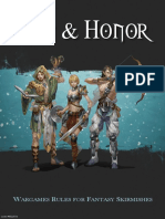 Iron and Honor Rules
