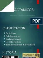 β-LACTAMICOS