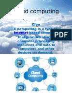 Cloud Computing My Ppt