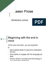 Unseen Prose (Tone)