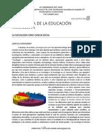Sociología de La Educación - Ficha de Cátedra N_ 1 (2)
