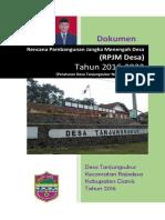 RPJM-Des 2016-2022