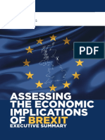 Assessing the Implications of Brexit Executive Summary