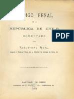 Codigo Penal 1883 de La Republica de Chile (1)