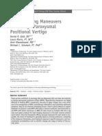 Repositioning Maneuvers for Benign Paroxysmal Positional Vertigo-mf-1