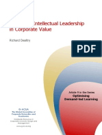 Managing Intelectual Leadership
