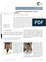 Rational Design of Nanomaterials for Water