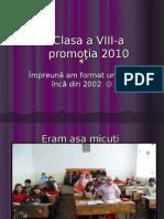 clasa a VIII-a II