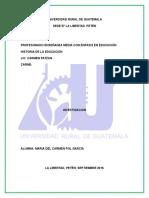 Corrientes Pedagógicas Contemporáneas LIC PATZAN 21