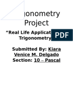 Trigonometry Project
