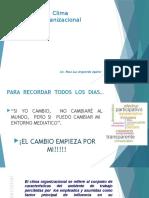 Clima Organizacional Cesar Vallejo