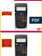 Overview of Using Calculator Casio