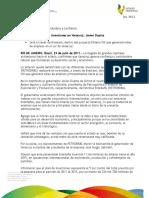 29 07 2011 - El gobernador Javier Duarte de Ochoa, anuncia inversiones de Petróleo Brasileño (PETROBRAS) en Veracruz.