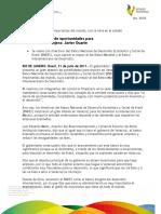 31 07 2011 - El gobernador Javier Duarte de Ochoa, se reúne con directivos del Banco Nacional de Desarrollo Económico y Social de Brasil (BNDES).