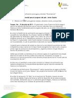 """15 07 2011 - El gobernador Javier Duarte de Ochoa visitó la Plataforma de Perforación para aguas profundas """"Bicentenario""""."""