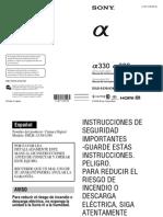 Sony Dsrl-A-330 - Manual de Usuario Español.pdf