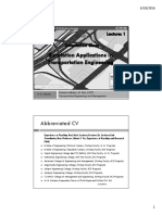 Lecture_1_M. Sc. Elective_Simulation Applications in Transportation Engineering