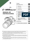 Manual Olympus E-M10 Markk II SP
